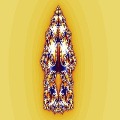 Ak-47 Digital Art - Jewel-encrusted Ak-47 Bullet by M Rao