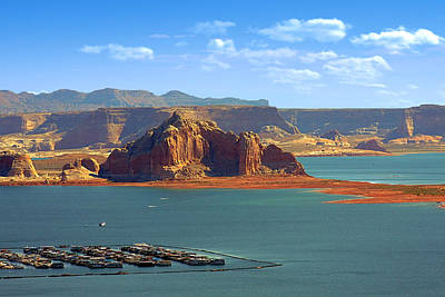 Jewel In The Desert - Lake Powell Art Print by Christine Till