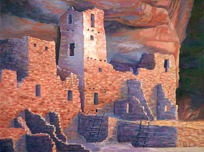 Anasazi Painting - Jewel Of Mesa Verde by Jerry McElroy