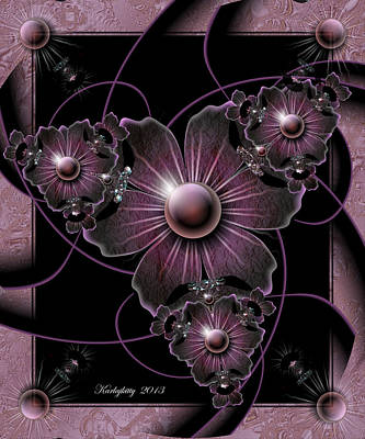 Digital Art - Jewel Of The Night by Karla White