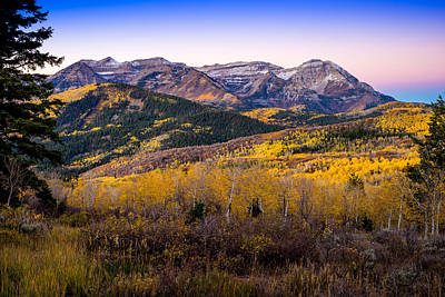 Photograph - Jewel Of The Wasatch by TL  Mair