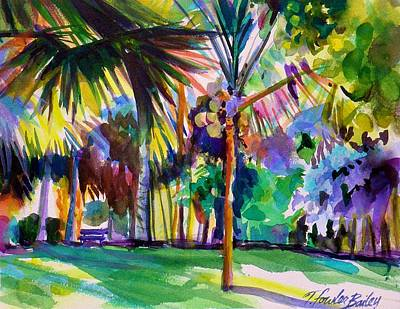 Jewel Tones From Hawaii Print by Therese Fowler-Bailey