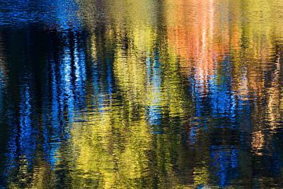 Jeweled Reflection 1 Art Print