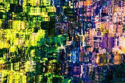 Jeweled Reflection 4 Art Print
