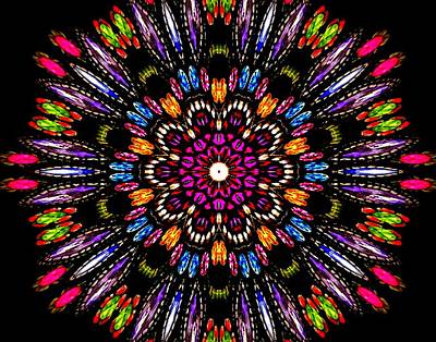 Photograph - Jewelled Kaleidoscope 1 by Sheri McLeroy