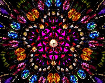 Photograph - Jewelled Kaleidoscope 2 by Sheri McLeroy