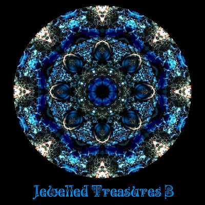 Digital Art - Jewelled Treasure 15 by Charmaine Zoe