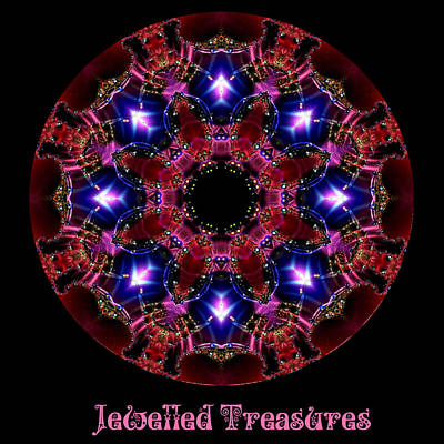 Digital Art - Jewelled Treasures No 3 by Charmaine Zoe
