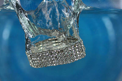 Diamond Bracelet Photograph - Jewelry-2 by Mark Ashkenazi