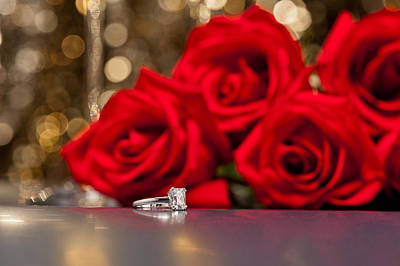 Photograph - Jewelry And Roses by U Schade