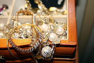 Jewelry Collections Art Print by Ester  Rogers