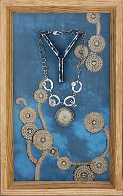 Silver Component Jewelry Jewelry - Jewelry Holder Shadow Box by Mirinda Kossoff