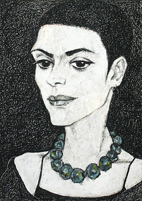 Jewelry In Portraits 1 Art Print
