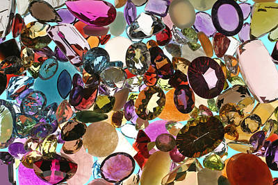 Photograph - Jewels And Gemstones by John Orsbun