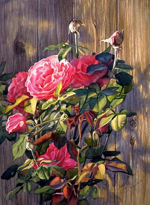 Wall Art - Painting - Jewels Of Summer by Nancy Delgado