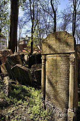 Photograph - Jewish Cemetery by Brenda Kean
