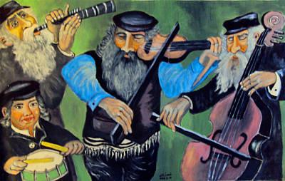 Painting - Jewish Klezmer by Mimi Eskenazi