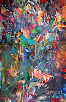 Inner Search Painting - Jewish Wedding by David Baruch Wolk