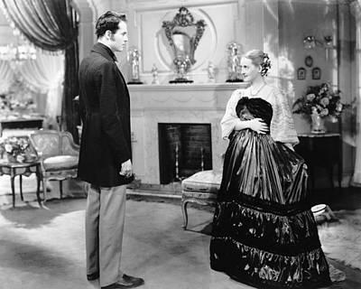 Films By William Wyler Photograph - Jezebel, From Left, Henry Fonda, Bette by Everett