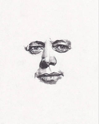 Drawing - JFK by Lee Ann Shepard