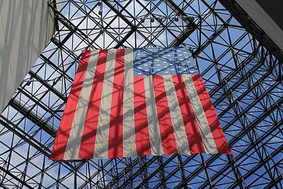 Photograph - Jfk Presidential Library 2 by Michael Saunders