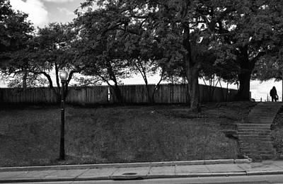 Jfk Plaza Photograph - Jfk The Grassy Knoll 1963 by William Jones