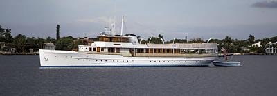 Steamboat Photograph - Jfk Yacht by Debra and Dave Vanderlaan