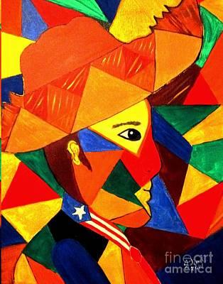 Jibaros Painting - Jibarito by Julie Crisan