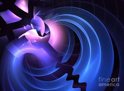 Kim Digital Art - Jigsaw by Kim Sy Ok