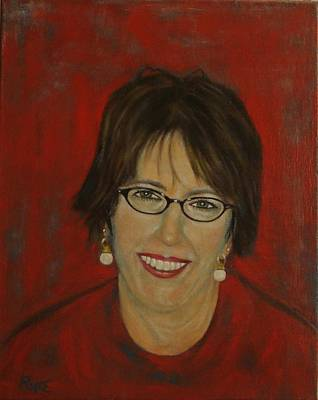 Painting - Jill D. Pope by Bruce Ben Pope