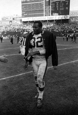 Jim Brown After Game Art Print by Retro Images Archive