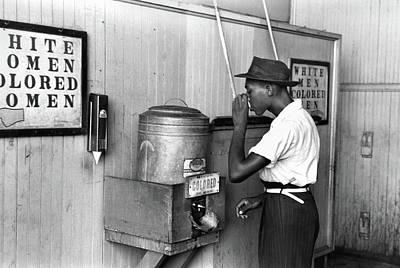 Jim Crow Laws, 1939 Art Print by Granger