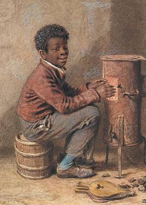 Crows Painting - Jim Crow by William Henry Hunt