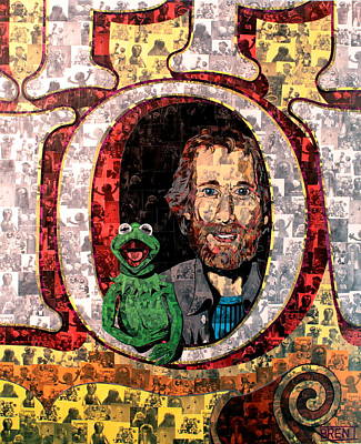 Painting - Jim Henson by Brent Andrew Doty