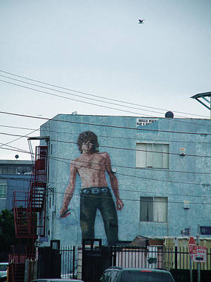 Venice Beach Mixed Media - Jim Morrison Apts/venice Beach by Robert Fowler