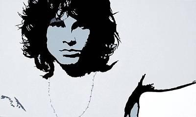 Jim Morrison Art Print by Bryan Dubreuiel