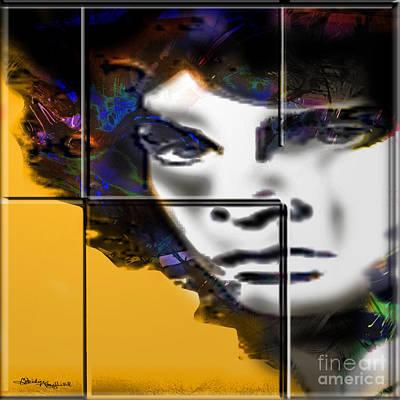 Jim Morrison Art Print by Christine Mayfield