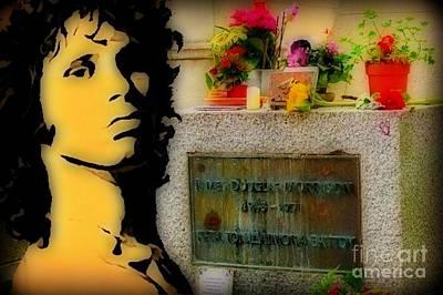 Unicorn Dust - Jim Morrison Memorial by John Malone