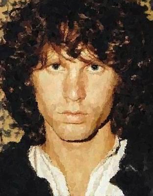 Jim Morrison Portrait Art Print