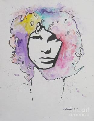 Avant Garde Mixed Media - Jim Morrison by Venus