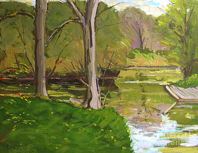 Jim Raders Pond Am Original by Charlie Spear