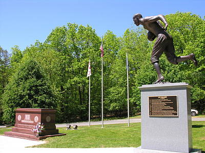 Photograph - Jim Thorpe Memorial And Mausoleum - Jim Thorpe Pa by Jacqueline M Lewis