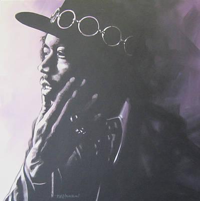 Johnny Allen Hendrix Painting - Jimi Hendrix by Bruce McLachlan