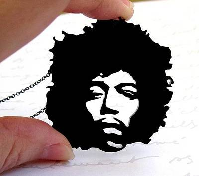 Perspex Jewelry Jewelry - Jimi Hendrix Necklace by Rony Bank