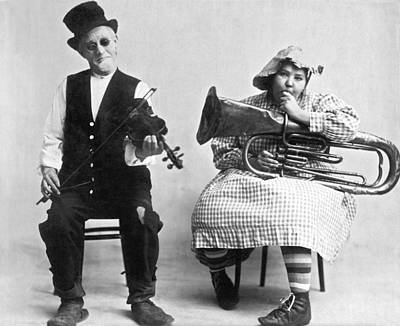 Music Photograph - Jimmie And Blanche Creighton by Underwood Archives