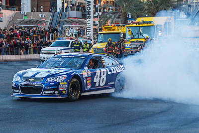 Jmp Photograph - Jimmie Johnson by James Marvin Phelps