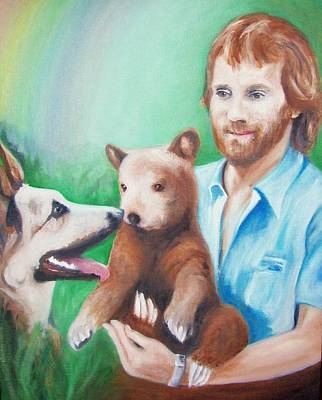 Painting - Jimmy And Companions by Martha Suhocke