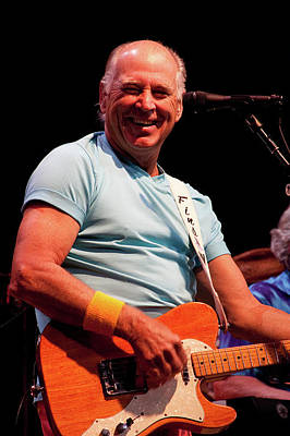 Jimmy Buffett 5626 Art Print by Timothy Bischoff
