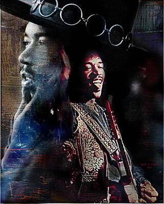 Jimmy Hendrix Art Print