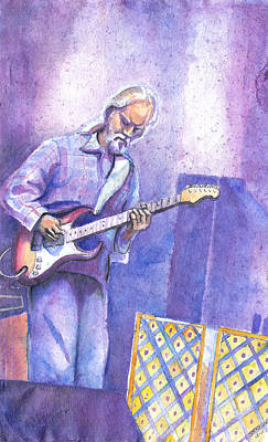 Painting - Jimmy Herring by David Sockrider